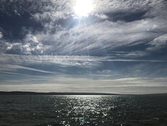 Hamble, UK: Sunshine in the Solent