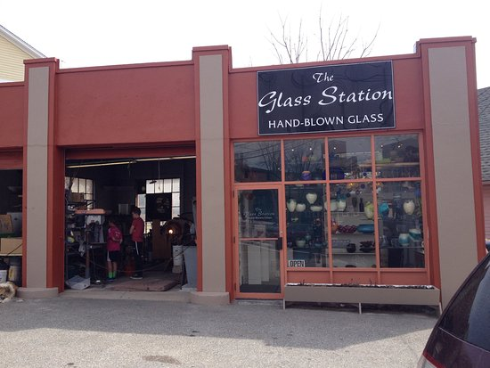 Wakefield, RI: The Glass Station.