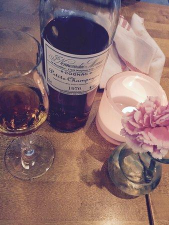 Cognac efter maten