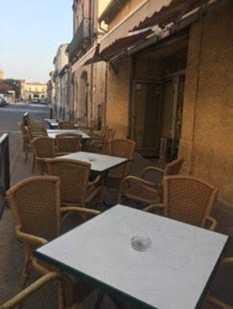 Fabregues, فرنسا: Petite terrasse à disposition 