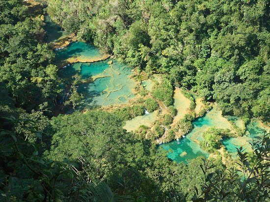 Semuc Champey: View from the viewpoint
