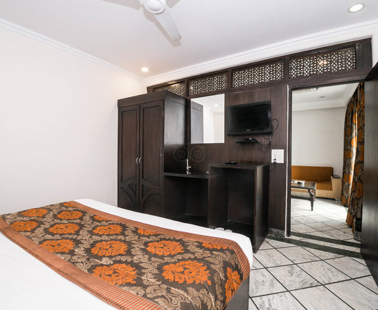 The Maharani Suite at the Hotel Royale Residency