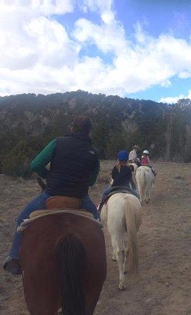 Nathrop, Κολοράντο: Along the trail....