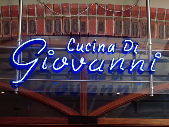 Giovanni's: This is the place to be