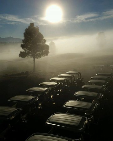 Pagosa Springs Golf Club: Foggy Morning