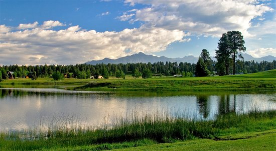 Pagosa Springs Golf Club: What a view!