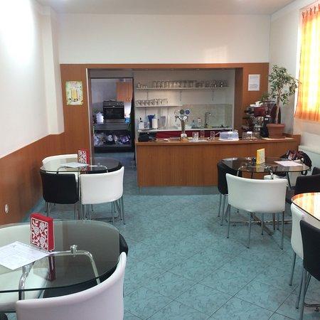Olomouc Region, Tsjechië: Café & Burger U HROCHA