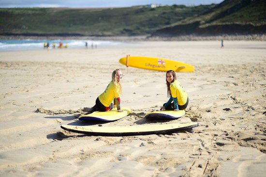 Sennen Cove, UK: Learn important beach safety tips at Smart Surf