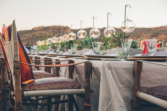 Clanwilliam, South Africa: Decor & flowers by Linda Schmiedeke. Photograph by Shanna Jones