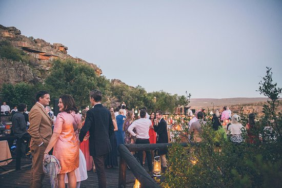 Clanwilliam, Sydafrika: Reception at Embers - Photograph by Shanna Jones