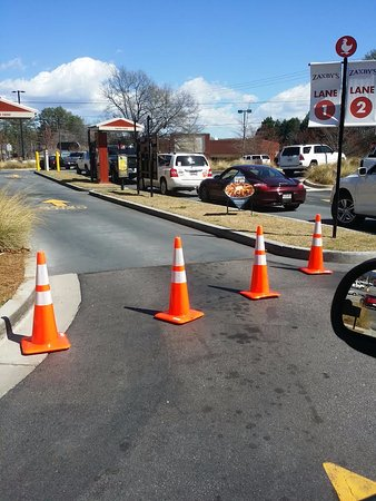 Easley, Carolina del Sud: The drive through takes forever...
