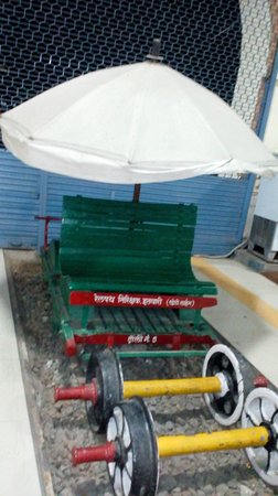 Narrow Gauge Rail Museum: inspection trolly