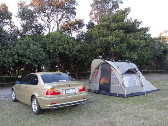Broken Head, Australia: Our new tents first outing