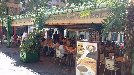 Terraza Café Fútbol Picture Of Cafe Futbol Granada