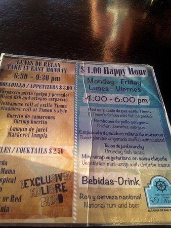 El Timon: Happy Hour
