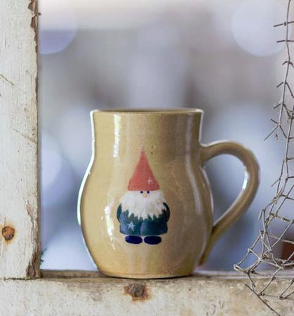 Bethlehem, NH: Gnome Mug by local artist