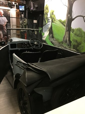 World of James Herriot: Original car used in programme,sadly behind glass