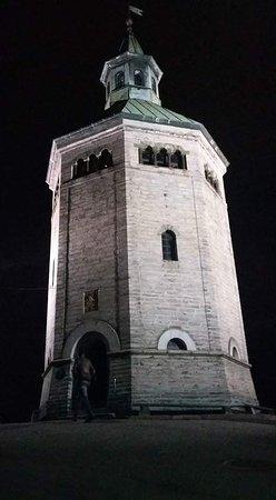 Valbergtårnet: Passei à noite em stavanger