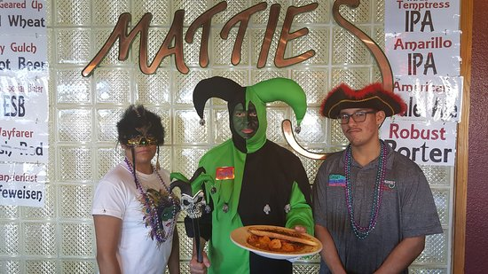 Elko, NV: We like to have funand celebrate the one & only  MATTIE GRAS
