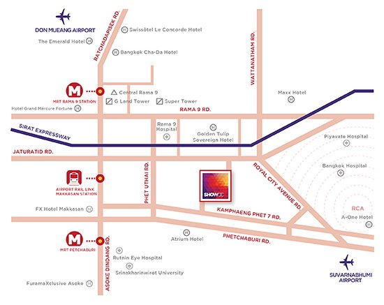 Mall Dc Map.Map Of Our Location At Show Dc Mall Picture Of Bangkok Float