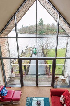 Kilchrenan, UK: Boatshed suite