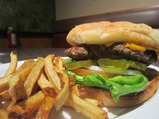 Elko, NV: Best burgers in town! Hand pressed and fresh, not frozen! Real potatoes for yummy fries!