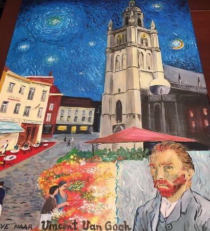 Halle, Bélgica: De Kleine van Gogh - Eethuis