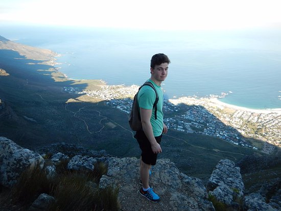 Hike Table Mountain: One of the many fantastic views on the way up