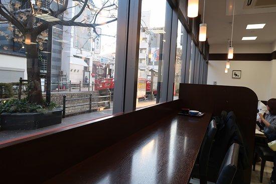 Nishitetsu Inn Kochi Harimayabashi: The Harimayabashi from the breakfast area