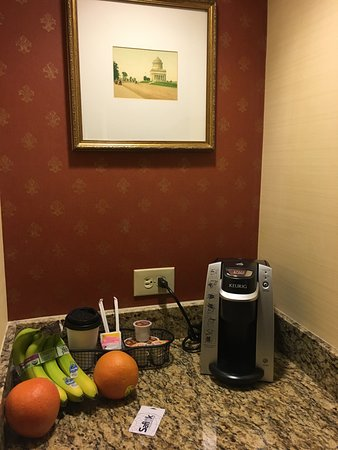 Tarrytown House Estate on the Hudson: Coffee Corner Complete with Keurig