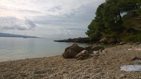 Bol, Croatia: Paklina naturist beach