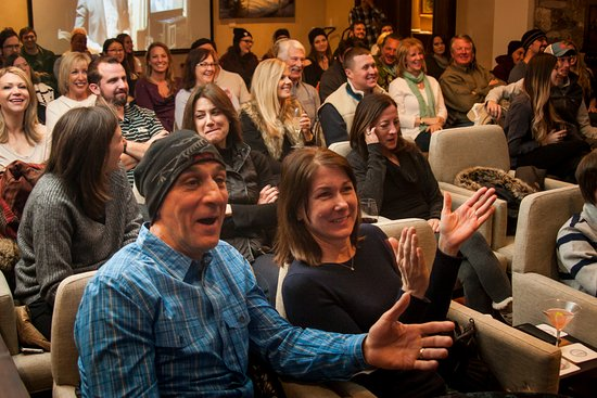 Telluride, CO: Packed house filled with laughter and amazement.