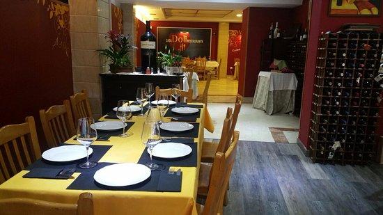 Restaurante muy acogedor picture of casa doli madrid tripadvisor - Casa doli restaurante ...