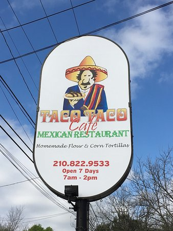 Photo of Mexican Restaurant Taco Taco Cafe at 145 E Hildebrand Ave, San Antonio, TX 78212, United States