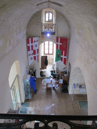St Agatha's Tower : Interior of the tower