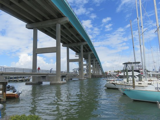 Matanzas on the Bay: Gorgeous view of the Harbor and the Pass
