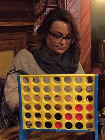 Maryville, TN: Hands on the Connect Four winner of the evening