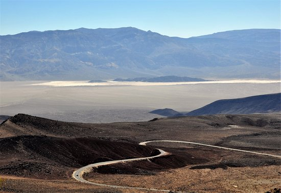 Father Crowley Vista Point: View from Father Crowley Point, overlooking the Panamint dunes