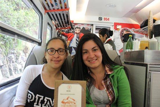 Inca Rail: Comfy seats and interesting beverages