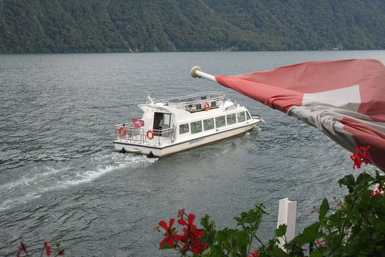 Gandria, Suiza: Water Taxi