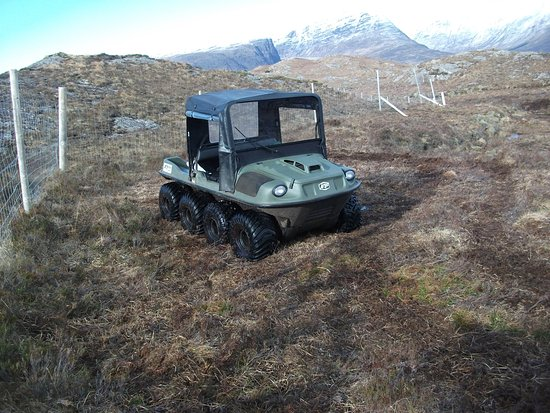 Lochcarron, UK: You wont forget your fun ride in this !