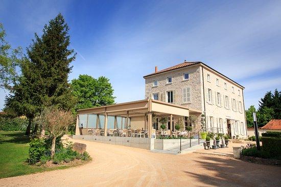Montbellet, France : Restaurant