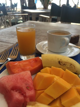 Kenyaways Beach Bed & Breakfast: Breakfast