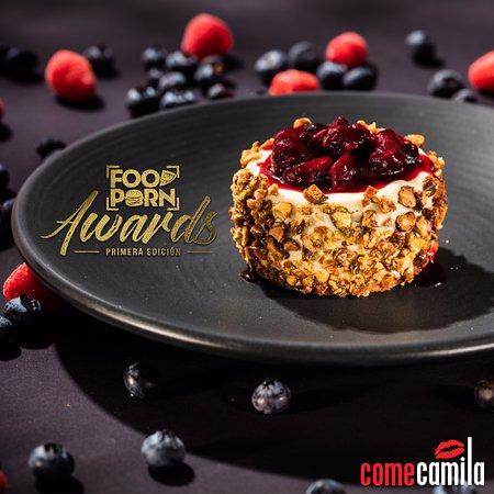 Come Camila ganador del premio Casual Dining de los Food Porn Awards 2017.