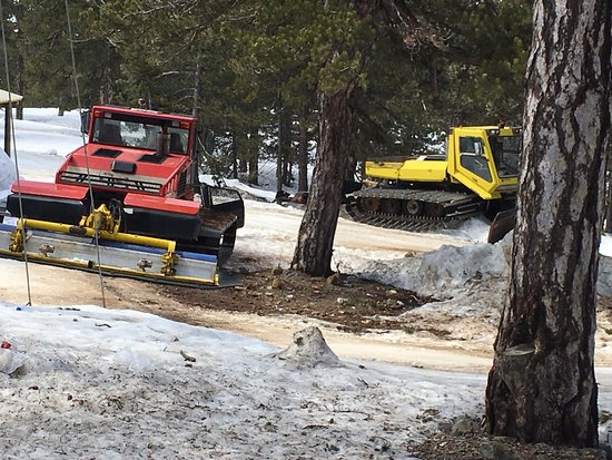 Troodos, Chipre: Snow ploughs