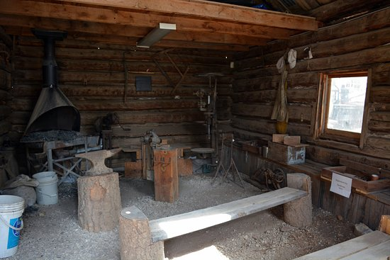 Cloudcroft, Нью-Мексико: Blacksmith shop
