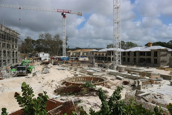 St. Lawrence Gap, Barbados: The New Sandals. Don't be put off by the construction