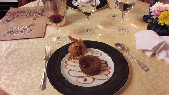 Planguenoual, France: dessert tout chocolat
