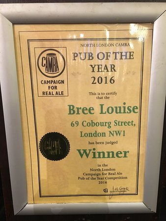 Photo of Bar Bree Louise at 69 Cobourg Street, London NW1 2HH, United Kingdom