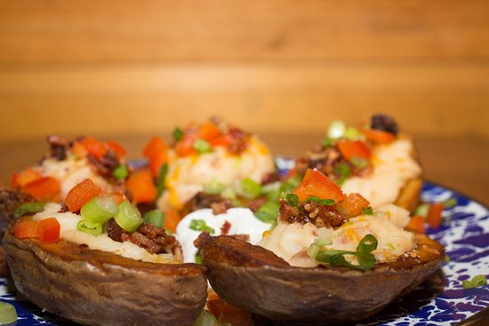 Ten Mile Station: Baked potatoes at TenMile Station